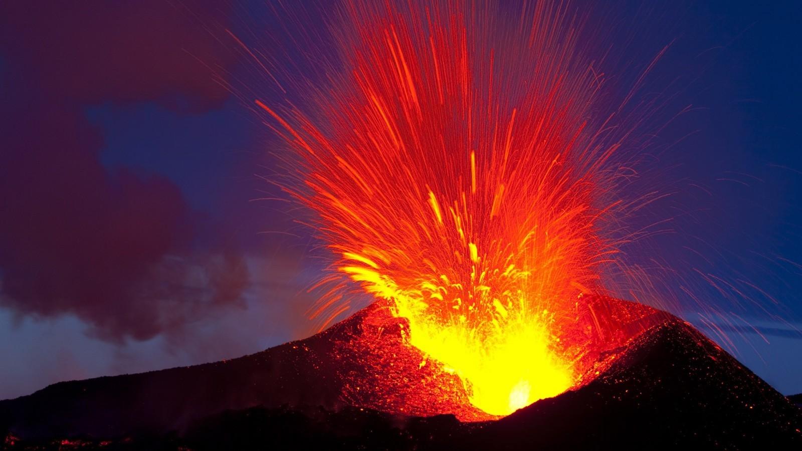Khí amoniac sinh ra từ hoạt động núi lửa