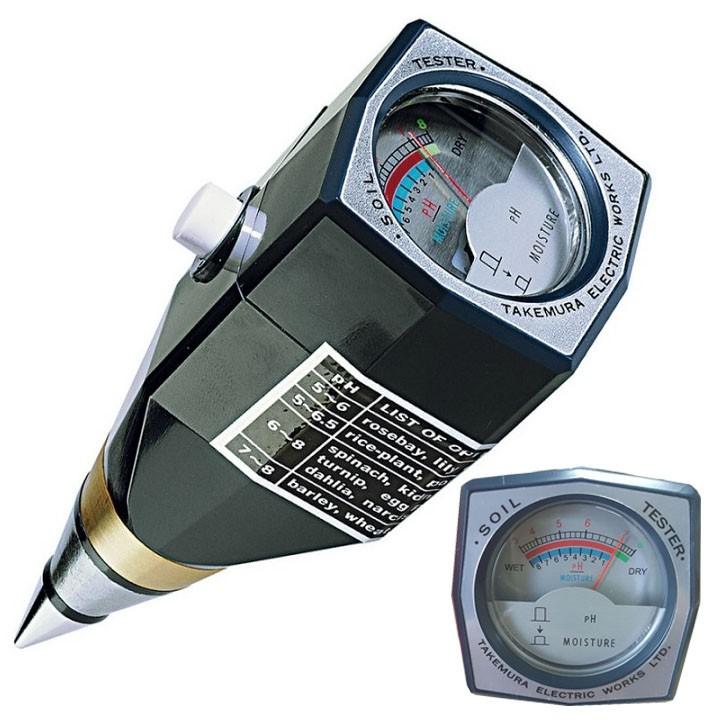 Máy đo pH và độ ẩm đất Takemura – Nhật