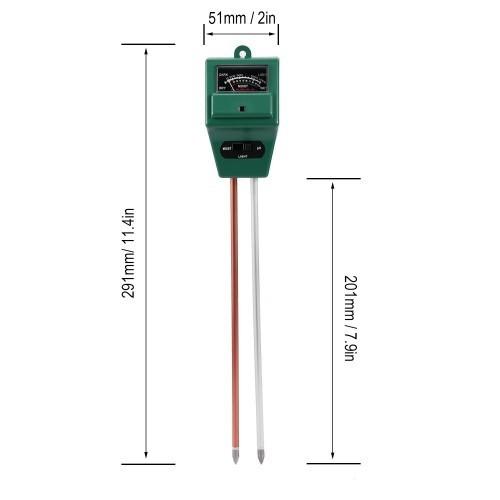Máy đo độ pH của đất có kích thước nhỏ gọn