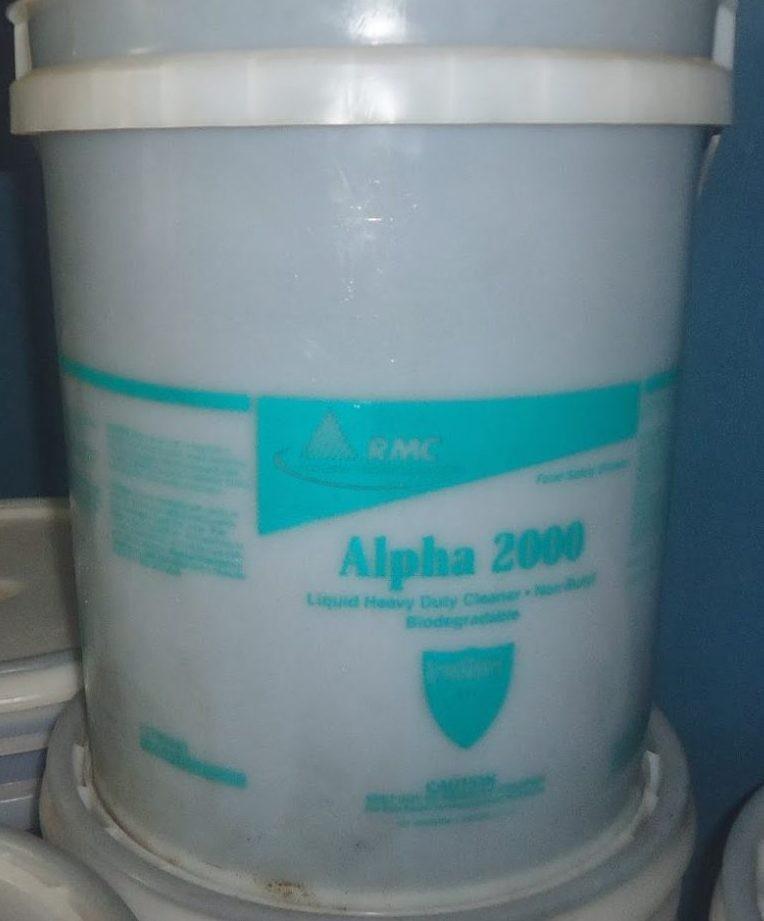 Hóa chất tẩy dầu nhờn ngành thực phẩm RMC Alpha 2000