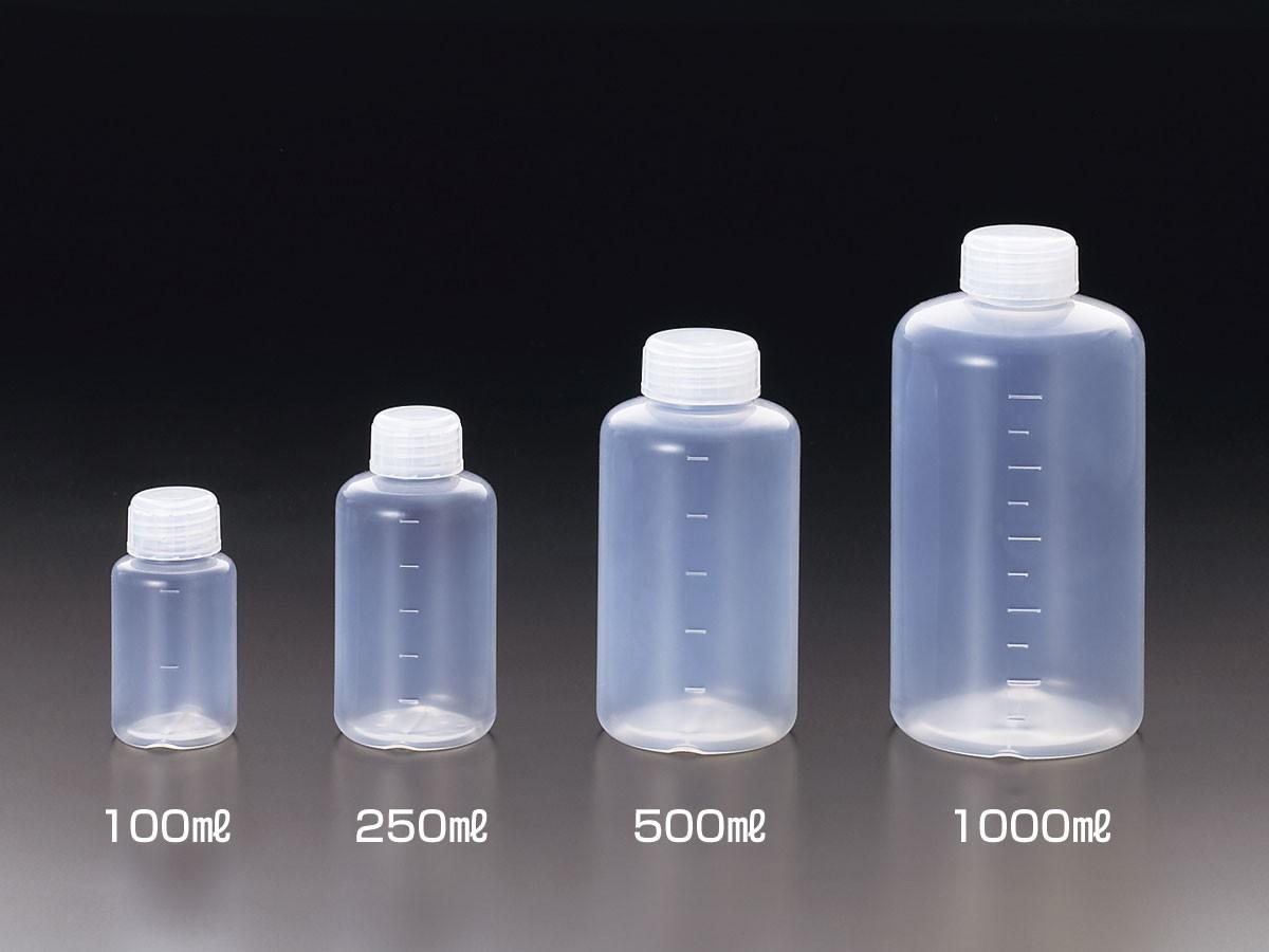 Chai nhựa đựng mẫu PE với dung tích đa dạng
