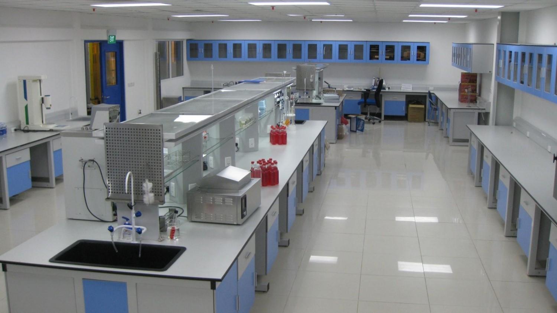 Thiết kế phòng thí nghiệm đảm bảo không gian hợp lý