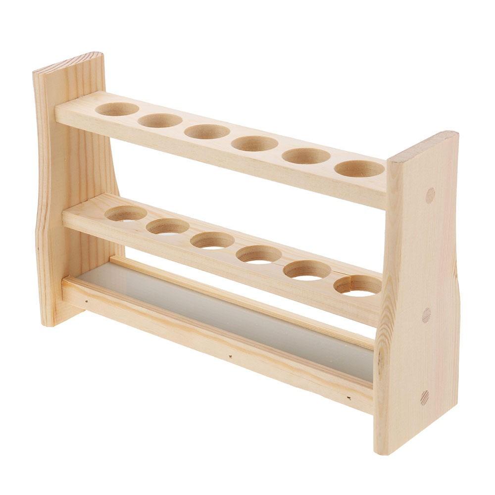 Giá đỡ ống nghiệm bằng gỗ