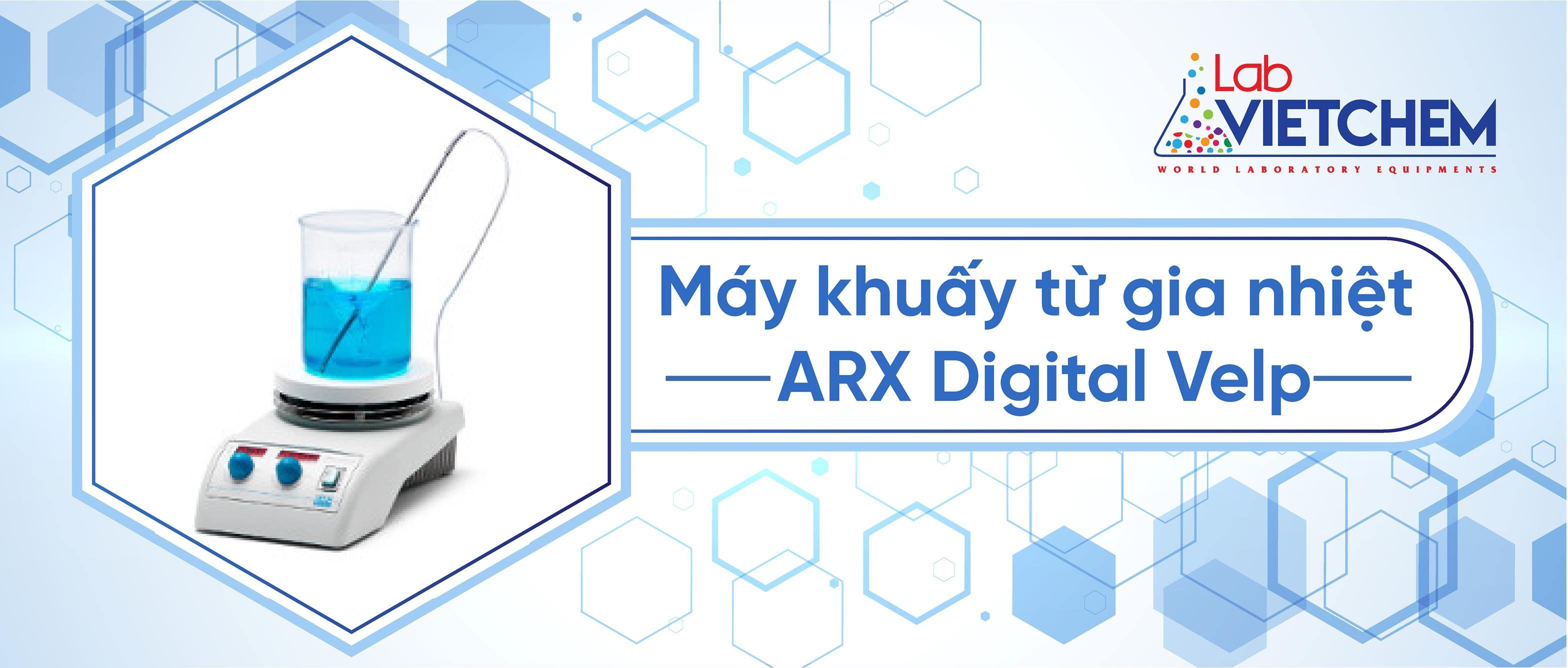 Máy khuấy từ gia nhiệt ARX Digital Velp