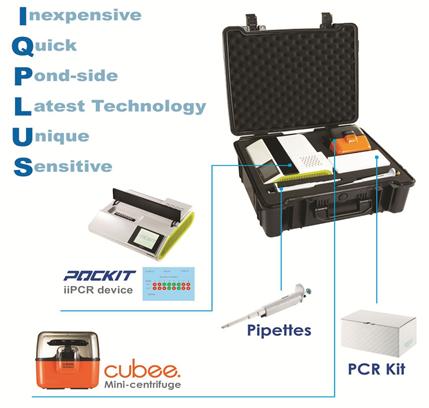 POCKIT Xpress - hệ thống chẩn đoán nhanh bệnh thú y