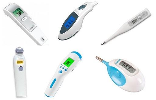 Nhiệt kế điện tử có nhiều loại với những vị trí đo khác nhau
