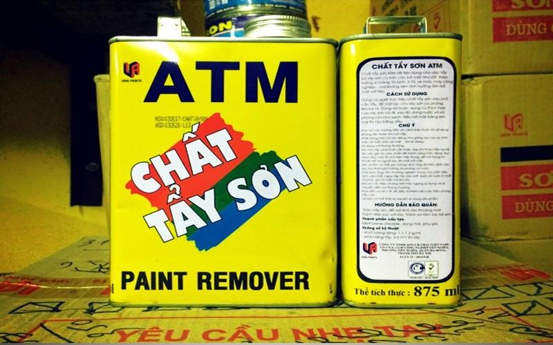 Hóa chất tẩy sơn là gì?