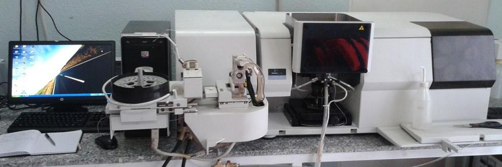 Hệ thống máy quang phổ hấp thụ nguyên tử