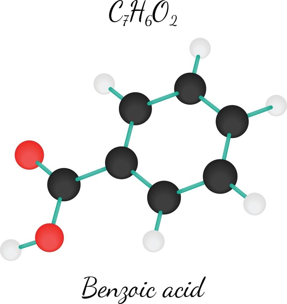 Công thức phân tử axit benzoic