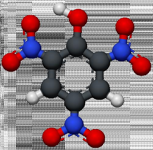 Cấu trúc phân tử của axit piric