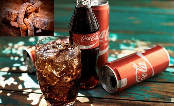 Cách tẩy rỉ sét bằng coca cola như nào?