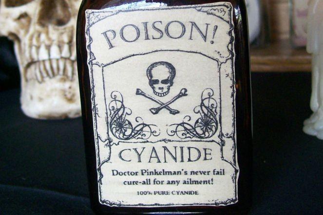 Xyanua là một trong những chất độc nguy hiểm
