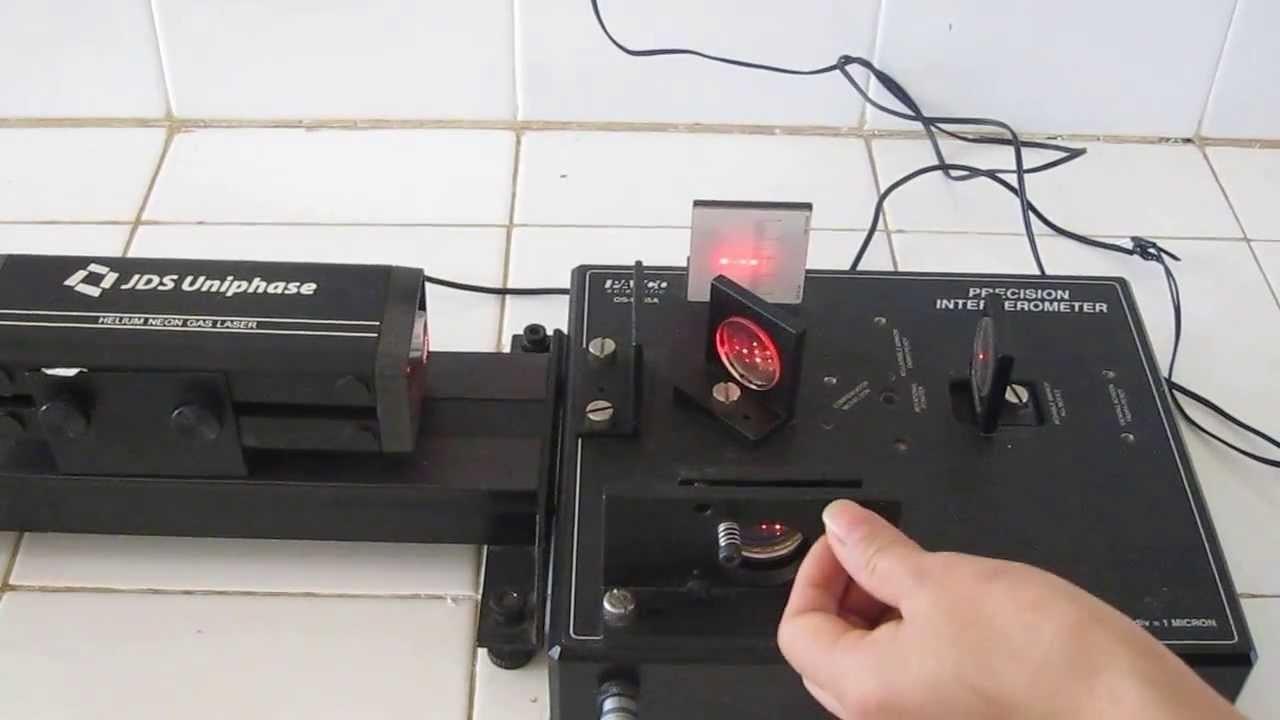 Giao thoa kế dùng để đo bước sóng của nguồn sáng