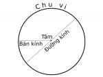 Phân biệt đường tròn và hình tròn? Cách tính đường kính hình tròn