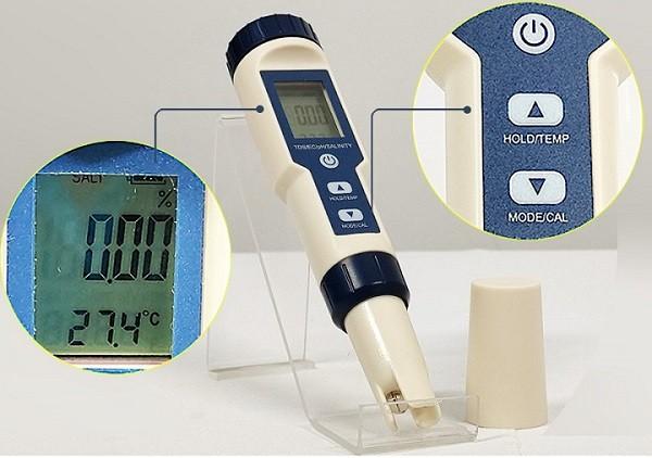 Bút đo pH có cấu tạo như nào