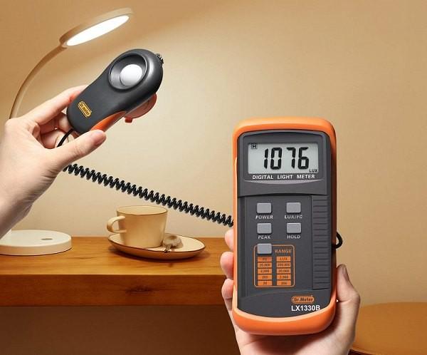 Máy đo cường độ ánh sáng có ứng dụng gì