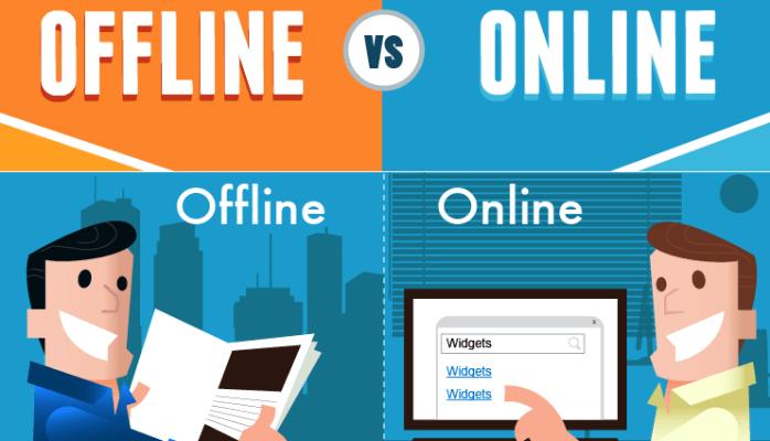 Sự khác nhau giữa học online và học offline
