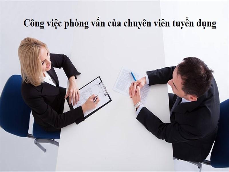 Mô tả công việc của chuyên viên tuyển dụng