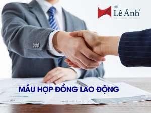 Mẫu hợp đồng lao động