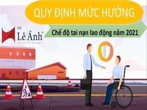 Quy định mức hưởng chế độ tai nạn lao động năm 2021