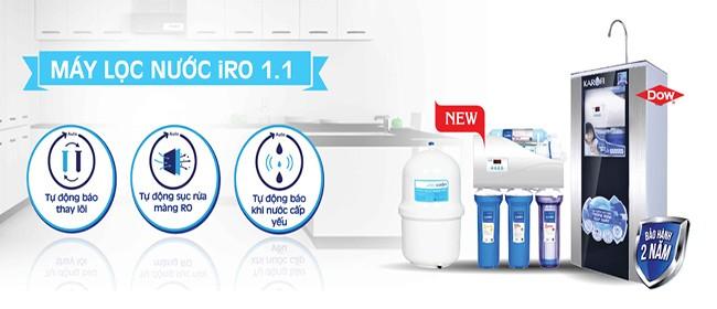 Công nghệ lọc IRO 1.1