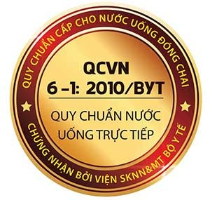 Máy lọc nước karofi n e118 đạt chuẩn QCVN6-12010BYT