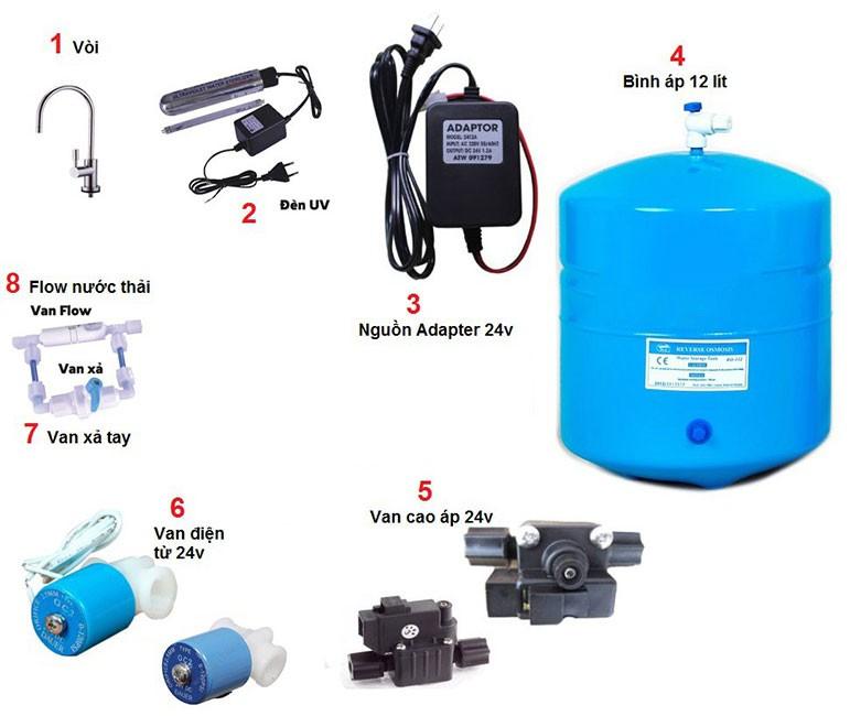 Linh kiện Máy lọc nước Thetis KSP90