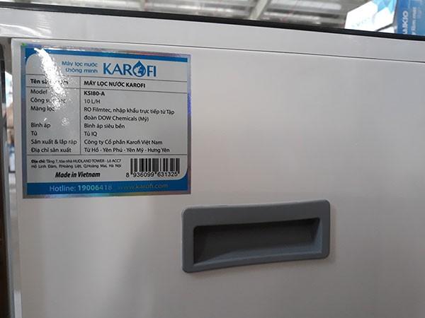 Thân máy lọc nước karofi k9iq 2a