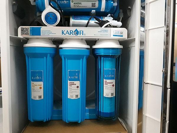 Lõi lọc 1, 2, 3 máy lọc nước karofi k9iq 2a