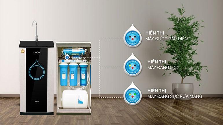 Thiết kế Máy lọc nước Thetis KSP90