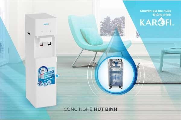 Cây nước nóng lạnh karofi hc300w