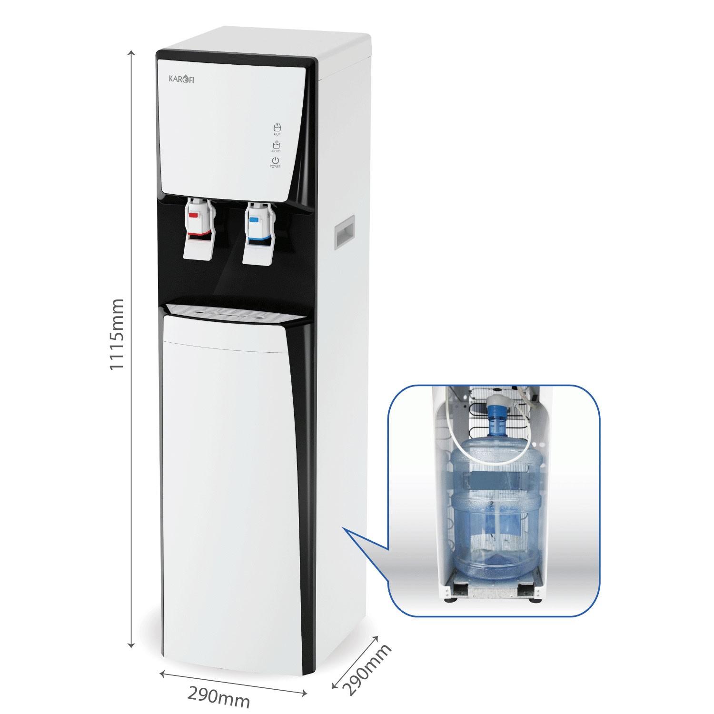 Hình ảnh Cây nước nóng lạnh karofi hcv151 wh