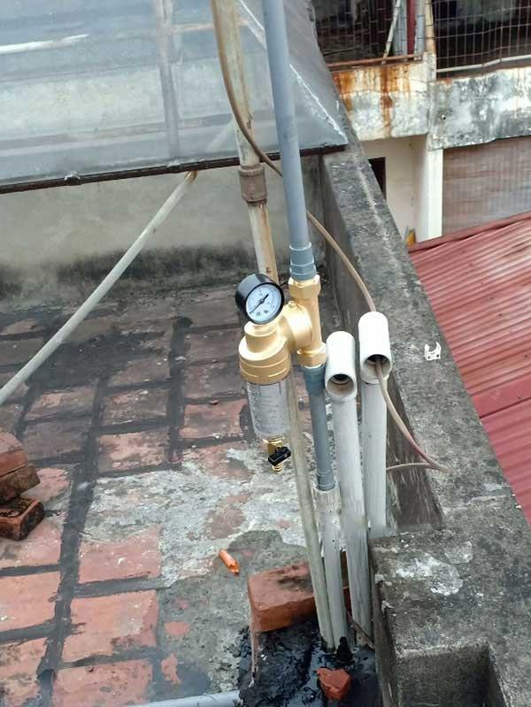 Hình ảnh thực tế lọc nước đầu nguồn karofi
