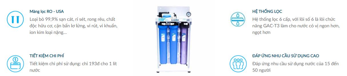 Ưu điểm của Máy lọc nước bán công nghiệp 30L