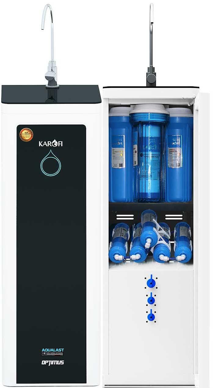 Tổng thể Máy lọc nước karofi 9 cấp optimus o i229 a