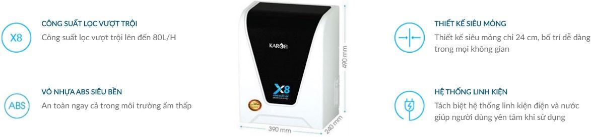 Công dụng của máy lọc nước karofi spido s s156