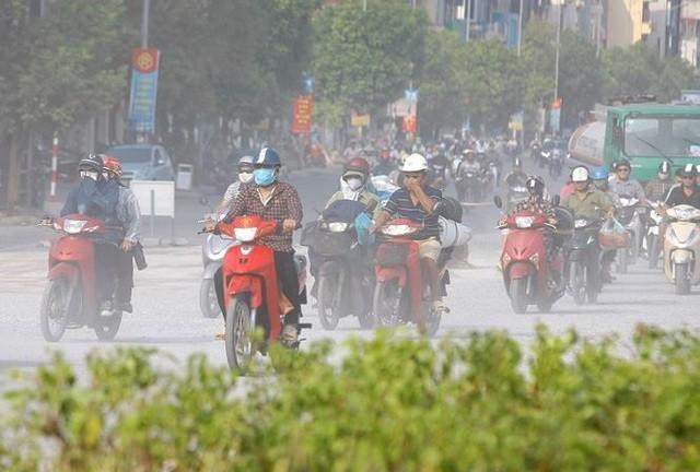 Tình trạng ô nhiễm không khí hiện nay