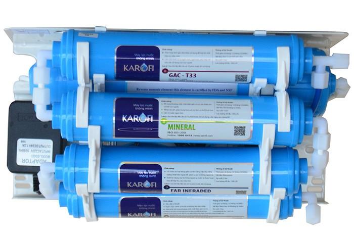 Thay các lõi chức năng của máy lọc nước karofi