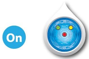 3 Đèn đều sáng giúp cho bạn nhận biết được máy lọc nước