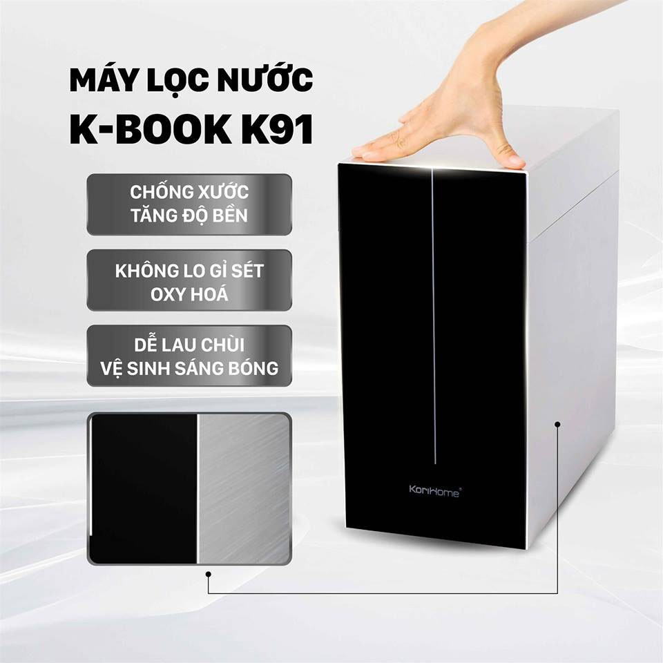 máy lọc nước K-book K91 vỏ chất liệu cao cấp