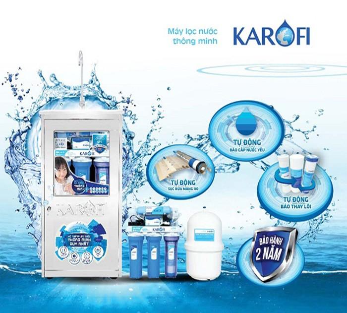Có những máy lọc nước Karofi nào