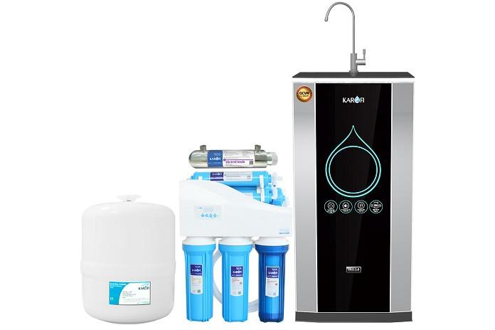 Máy lọc nước có khả năng lọc sạch vi khuẩn gây bệnh