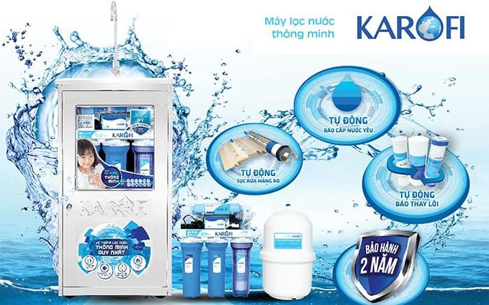 Máy lọc nước Karofi rất tốt trong tầm giá