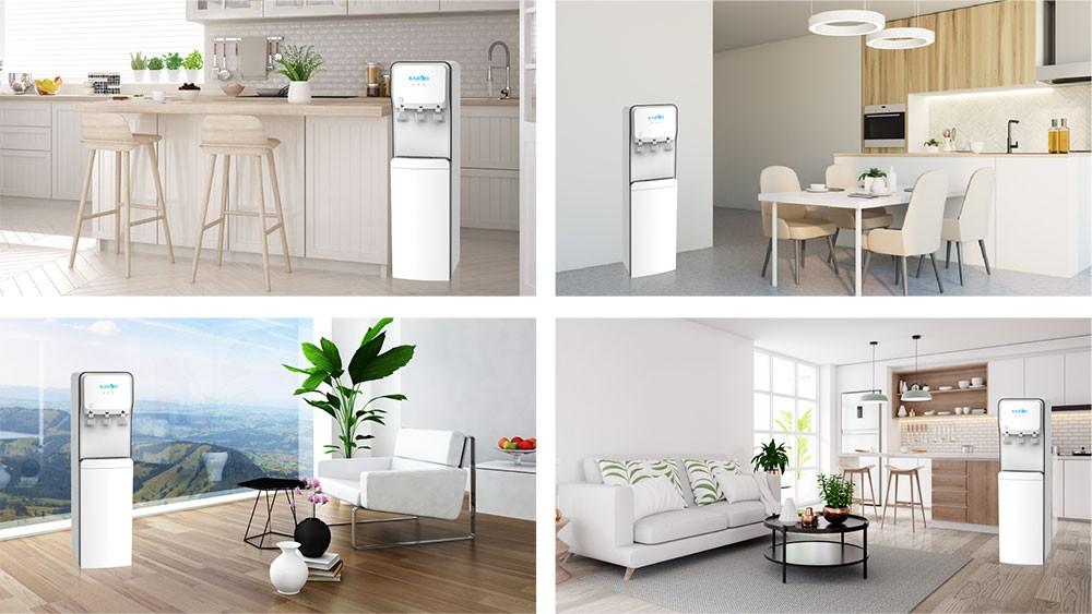 Cây nóng lạnh hút bình Karofi HC18 phù hợp với mọi không gian