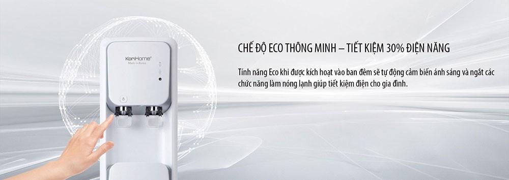 Máy lọc nước nóng lạnh KoriHome WPK-906 được trang bị cảm biến ECO