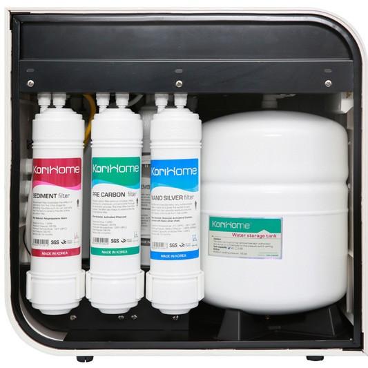 máy lọc nước ro korihome wpk 606 trang bị công nghệ lõi lọc cao cấp