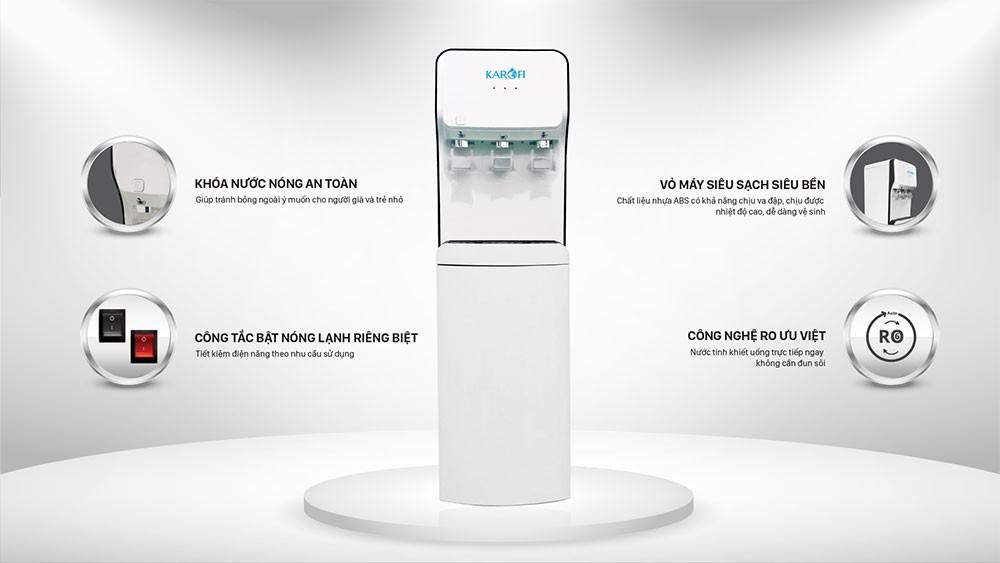 Máy lọc và làm nóng lạnh nước HC18RO có thiết kế cao cấp