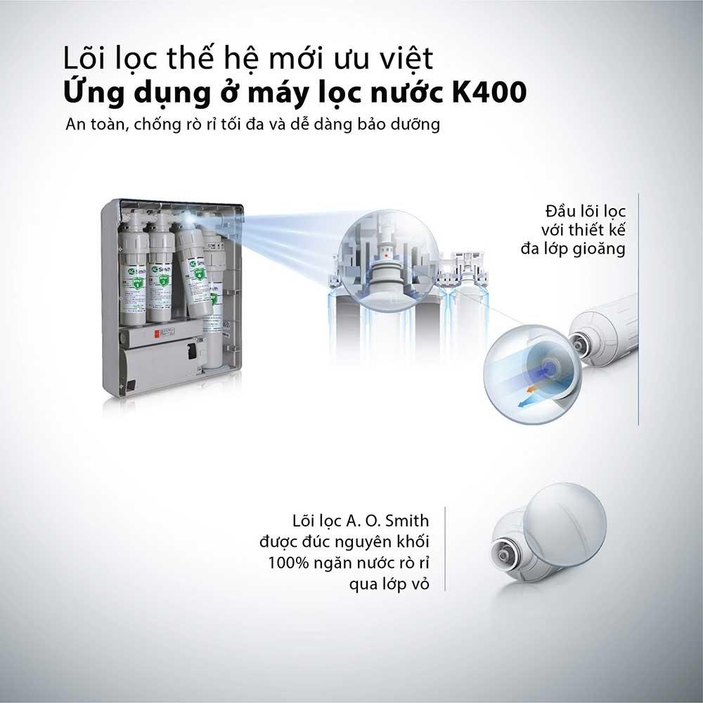 Máy Lọc Nước A. O. Smith K400