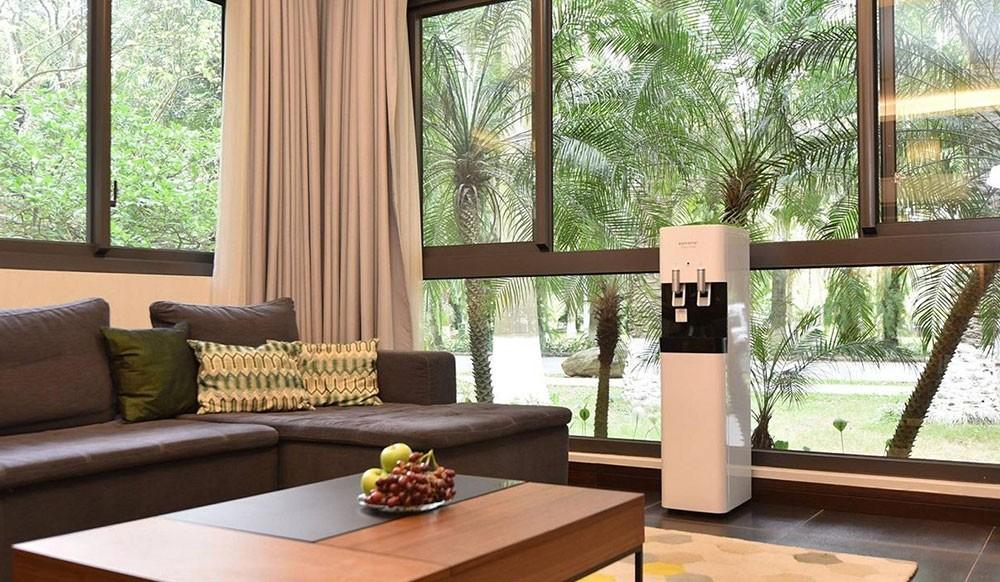 Máy lọc nước Korihome WPK-818 có thể đặt trong phòng khách