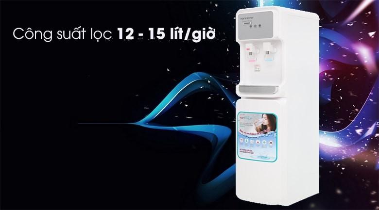 Máy lọc nước Korihome WPK-915 công suất lọc từ 12-15 lít mỗi giờ